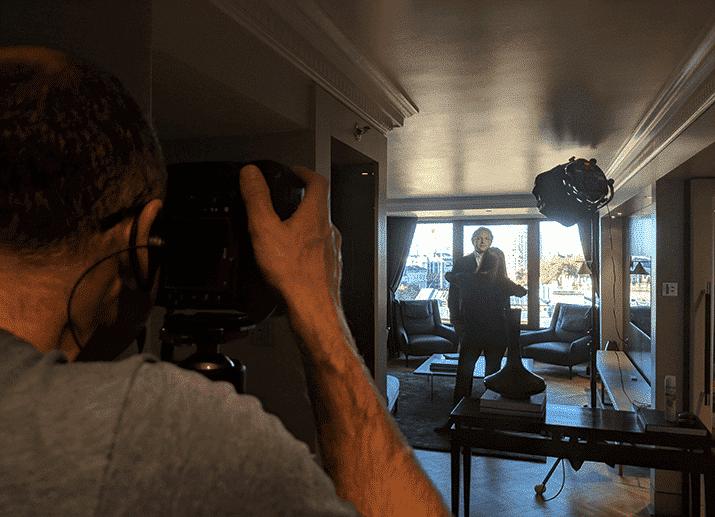 Shooting Alexander Hall with the Anova PRO 2